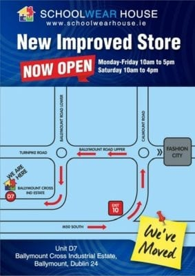 92592009cce2b OUR NEW STORE IS OPEN IN BALLYMOUNT